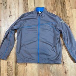 Nike Kobe mens XXL zip up jacket blue gray rare 24